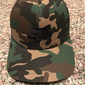 Fox Flex Fit Camo Hat Sz L/XL